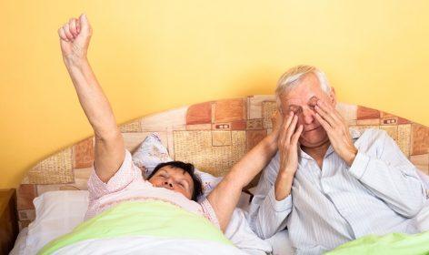 นอนไม่หลับในผู้สูงอายุ